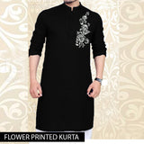 FLOWER PRINTED KURTA