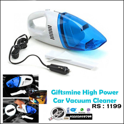 Giftsmine High power car vacuum cleaner