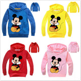 PACK OF 2 MICKEY MOUSE PRINTED KIDS HOODIES FOR BOYS (Print 101)
