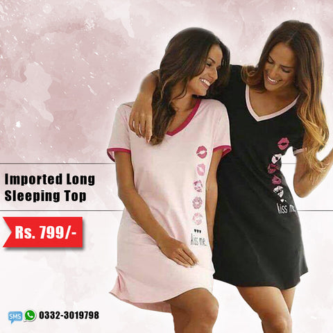 Imported Long Sleeping Top (Deal-4)