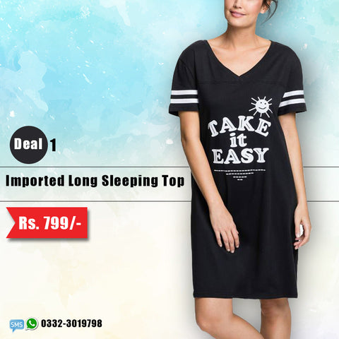 Imported Long Sleeping Top (Deal-1)