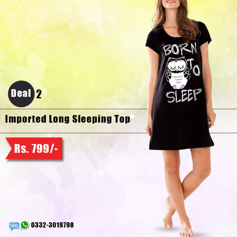 Imported Long Sleeping Top (Deal-2)