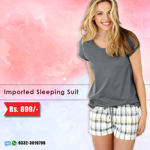Imported Sleeping Suit (Shorts & Top) Deal-4