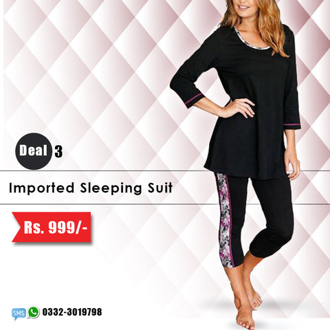 Imported Sleeping Suit (Deal-3)