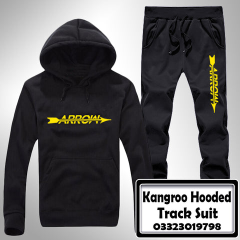 Kangroo Hooded Track Suit