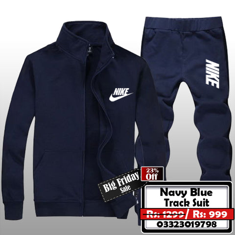Navy Blue Track Suit