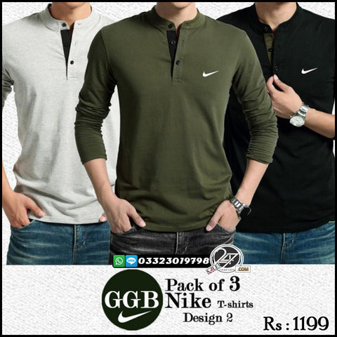 Pack of 3 GGB NIKE T-Shirts