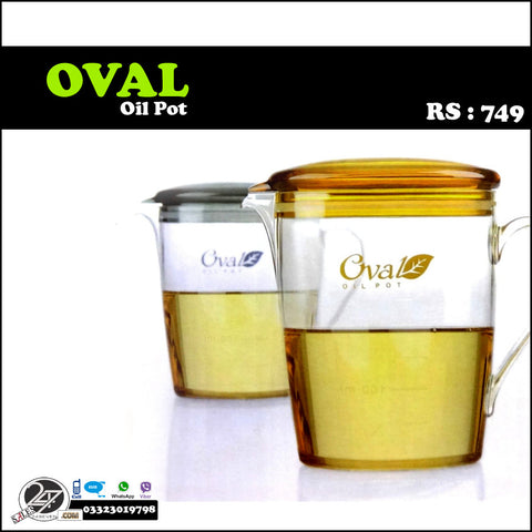 Oval Oil Pot