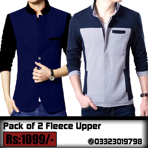 Pack of 2 Fleece Upper (Deal 2)
