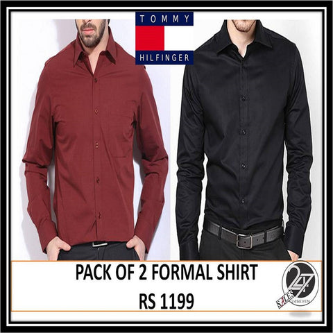 Tommy Hilfiger pack of 2 shirts