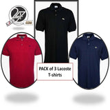 Pack of 3 Lacoste T-shirts