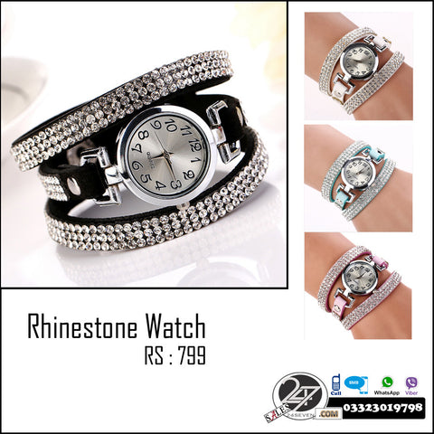 RhineStone Watch For Females
