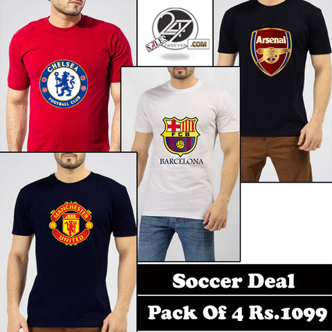 Soccer Deal Pack of 4
