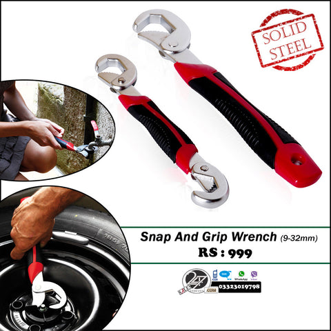 Snap and Grip Wrench