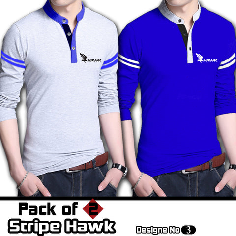 Pack Of 2 Stripe Hawk T shirts Deal 3