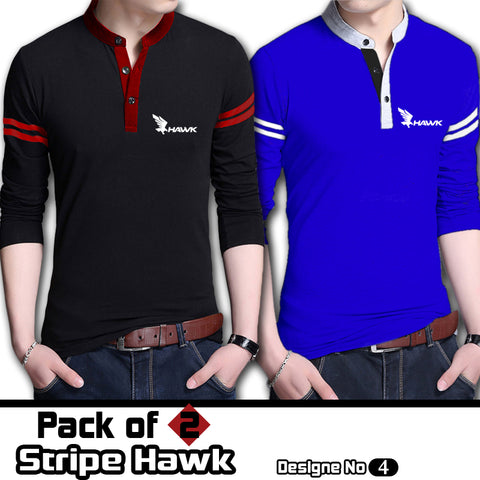Pack Of 2 Stripe Hawk T shirts Deal 4