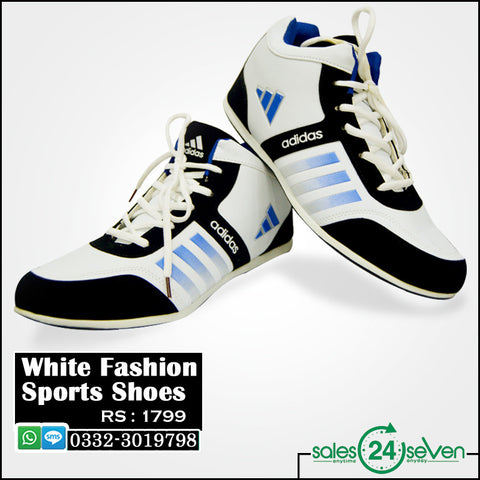 White Fashion Sports Shoes