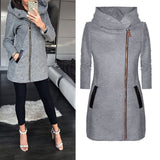 ZIPPER LONG  COAT