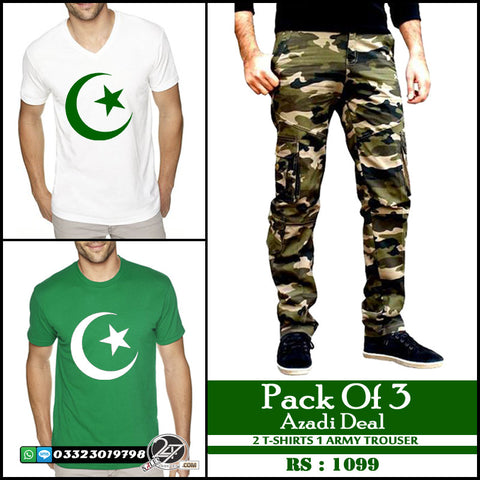 Pack of 3 Azadi Deal