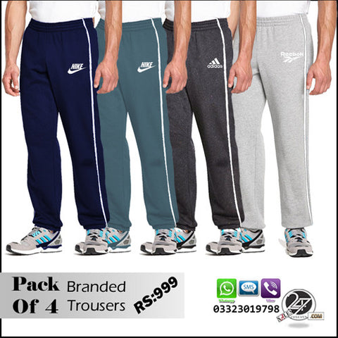 Pack of 4 Branded Trousers