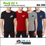 SALE: Pack of 4 Branded T-Shirts
