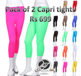 Capri tights Pack of 2