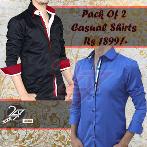 Pack of 2 Casual Shirts