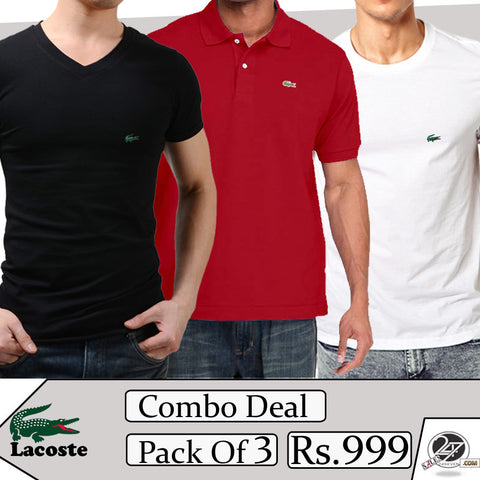 Lacoste Combo Deal (pack of 3)