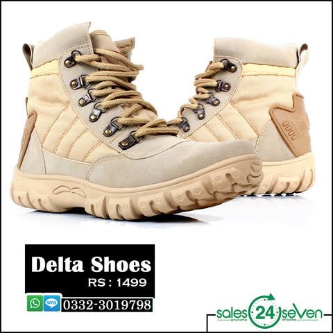 DELTA High Back Light Brown Shoes.