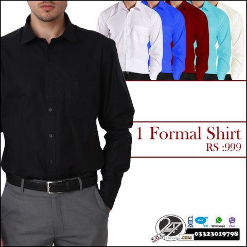 Fine Finish Formal shirts