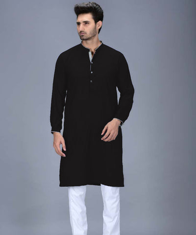 CONTRAST PACKET KURTA