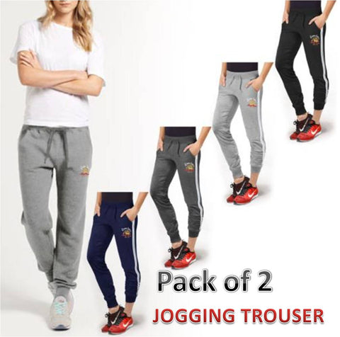 Pack of 2 Ladies  Jogging trouser
