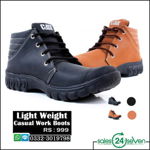 Light Weight Casual Work Boots