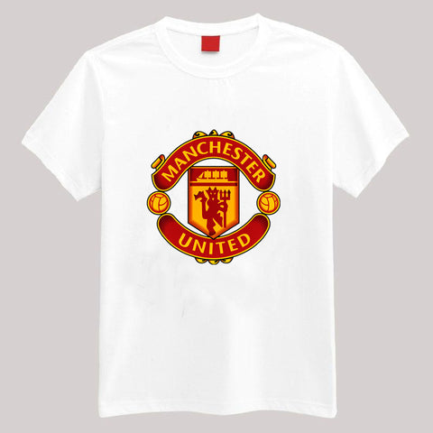 White manchester united t-shirt