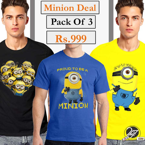 Minion's Deal (Pack of 3)