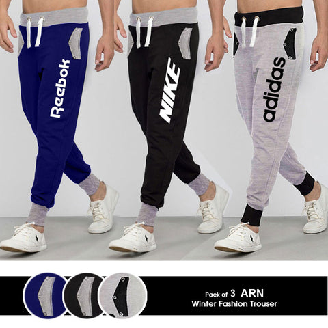 Pack of 3 Exclusive Logo ARN Trousers