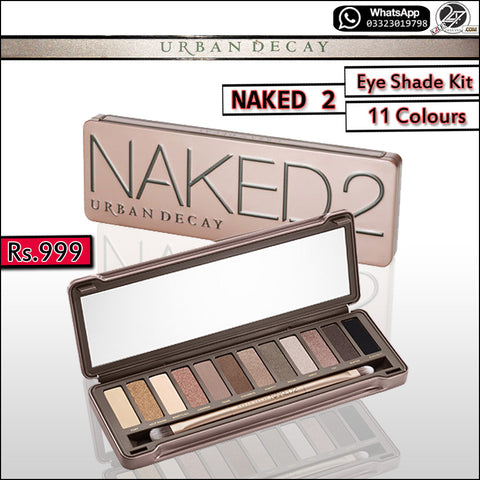 NAKED 2 (12-Shades) Eye Shades Kit