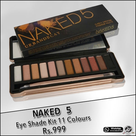 NAKED 5 (12-Color) Eye Shadow Kit