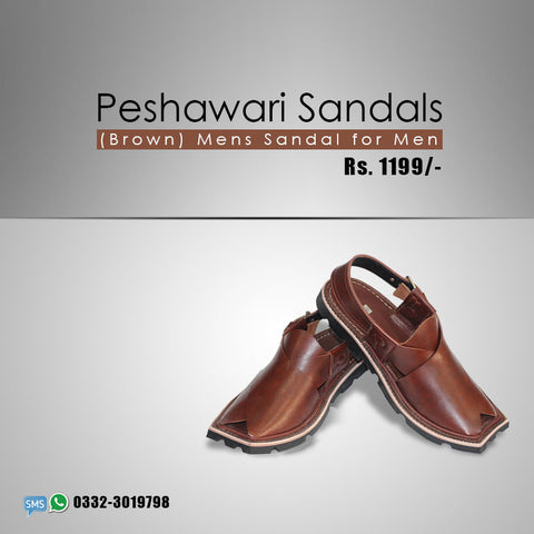 Peshawari Sandal (Brown)