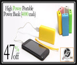 High Power Portable Power Bank