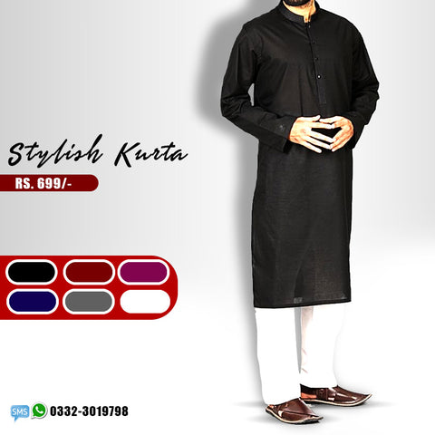 Plain stylish kurta