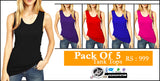 Pack of 5 Tank Tops