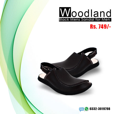 Woodland Sandal (Black)