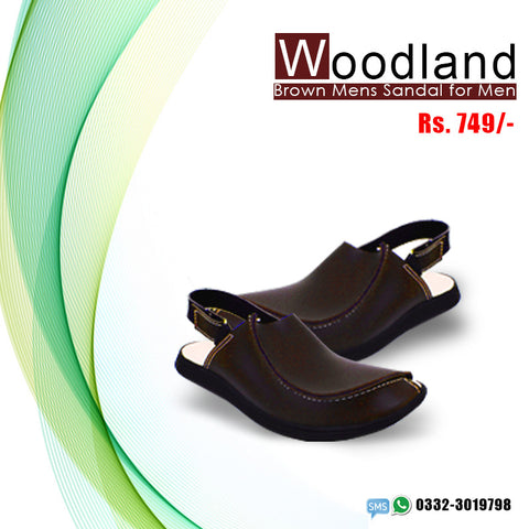 Woodland Sandal (Brown)