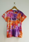 Tie-Dyed 'Flazéda' Void and Worth Queens T-Shirt