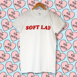 'Soft Lad' Red Void and Worth T-shirt