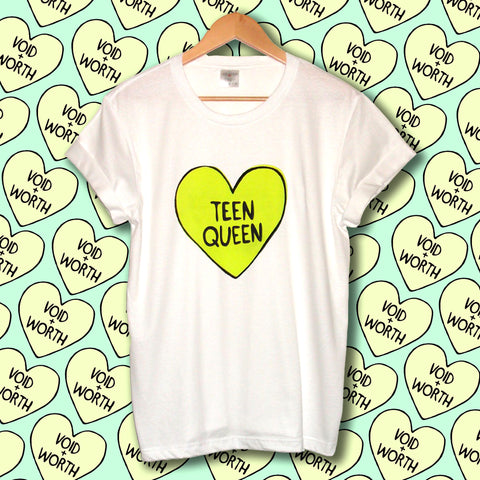 Tumblr Heart 'Teen Queen' Void and Worth T-shirt