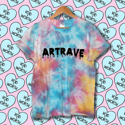 Tie-Dyed 'ArtRave' Void and Worth Monster's Haul T-shirt