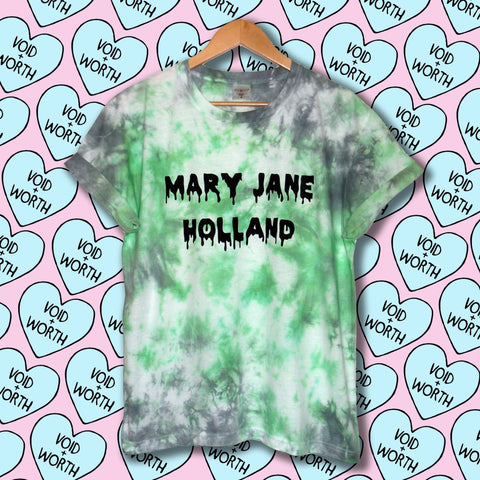 Tie-Dyed 'Mary Jane Holland' Void and Worth Monster's Haul T-shirt