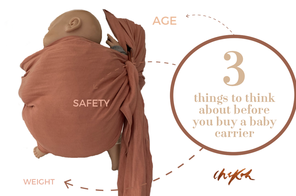 3 Tips When Choosing Your Baby Carrier